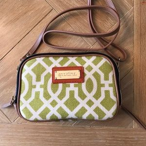 Spartina 449 Heyward Claire Crossbody, Chartreuse